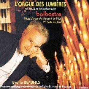 Balbastre - Pièces d'orgue du Manuscrit de Dijon