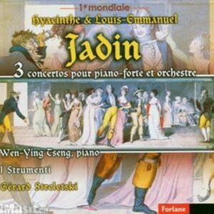 Hyacinthe & Louis-Emmanuel Jadin : 3 Concertos Pour Piano-Forte Et Orchestre