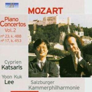Mozart : piano concertos vol.2 - Concertos N°23 Et N°17