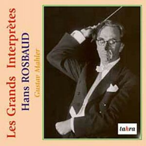 Mahler : Symphonie n° 1. Rosbaud.