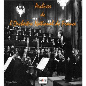 Archives de l'Orchestre National de France.