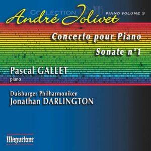 Jolivet : Sonate piano n°1. Gallet.