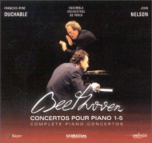 Beethoven : Les Concertos pour piano (1 à 5) + 1 DVD