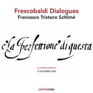 FRESCOBALDI : Toccatas (premier livre). F. T. Schlimé