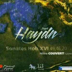 Haydn : Sonates pour piano Hob. XVI n° 20, 46, 49