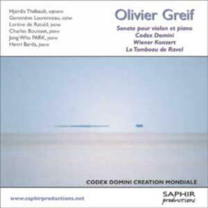 Greif : Sonate pour violon. Laurenceau