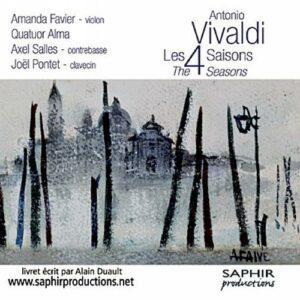 Vivaldi : Les Quature Saisons. Favier.
