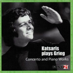 Grieg : Concerto piano op16. Katsaris.