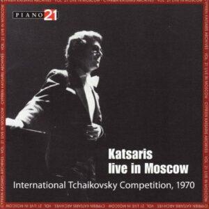 Cyprien Katsaris :Live in Moscow.