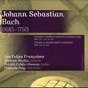 Bach : Sonates pour violon. Cohen.