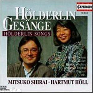 Mitsuko Shirai, mezzo-soprano - Hartmut Höll, piano : Hölderlin-Gesänge