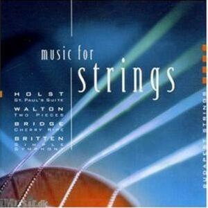 Gustav Holst - William Walton... : Musique pour cordes