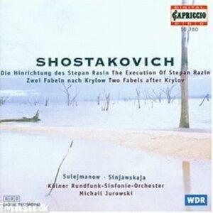 Dimitri Chostakovitch : L'Exécution de Stepan Rasin