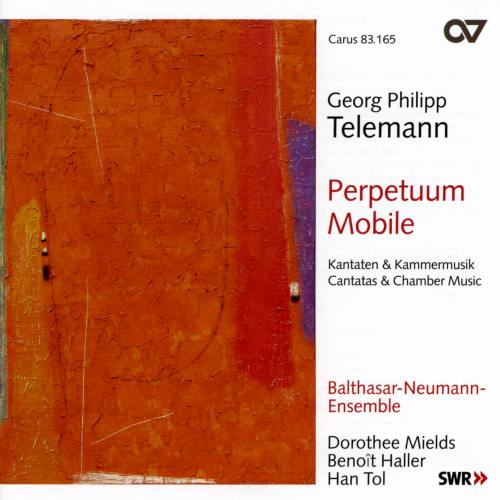 Telemann : Perpetuum mobile (Cantates et Musique de chambre)