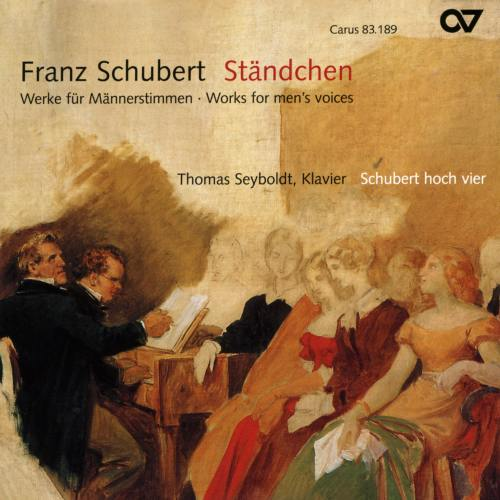Schubert : Œuvres pour voix d'hommes