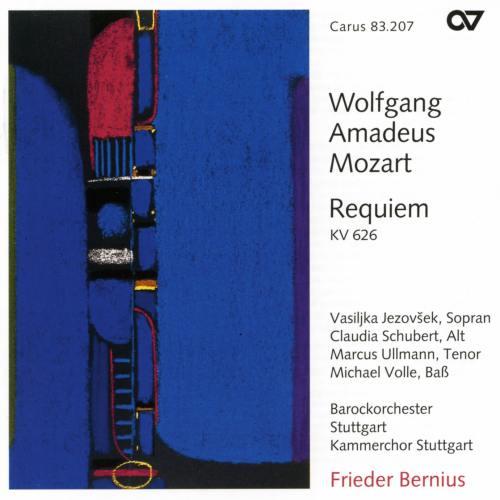 Mozart : Requiem. Bernius.