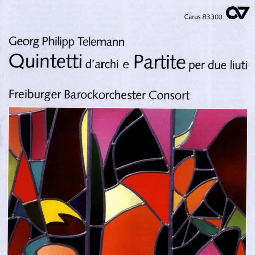Telemann : Quintetti d'archi e Partite per due liuti