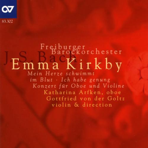 Bach : Cantates solistes - Concerto pour hautbois et violon