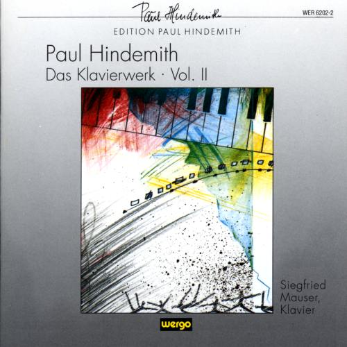 Hindemith : Œuvres pour piano II