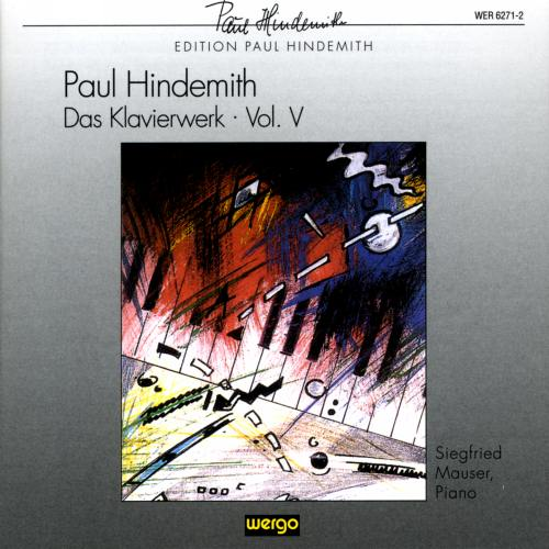 Hindemith : Œuvres pour piano V