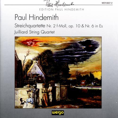 Hindemith : Quatuors n° 2 & 6