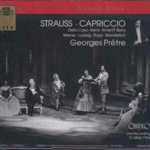 Strauss : Capriccio. G. Prêtre.