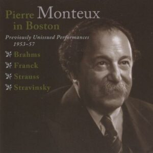 Monteux in Boston, lives 1953-57