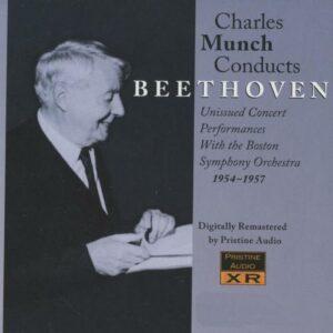 Munch dirige Beethoven.