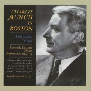 Munch à Boston : Les premières années.