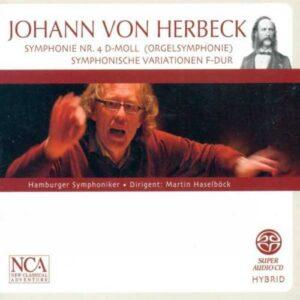 Herbeck : Symphonie n° 4. Haselböck.