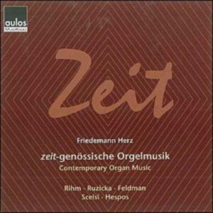 Musique contemporaine pour orgue : Zeit (Temps)