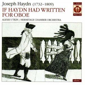 Haydn : Œuvres pour hautbois, vol. 1. Utkin.