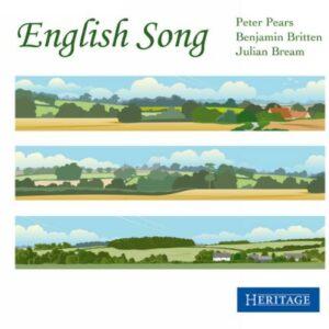 Mélodies anglaises. Pears, Britten, Beam.
