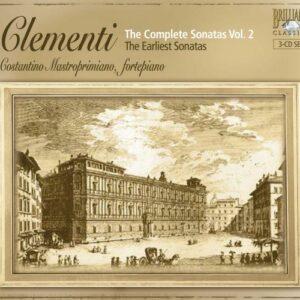 Muzio Clementi : Sonates pour piano (Intégrale, volume 2)