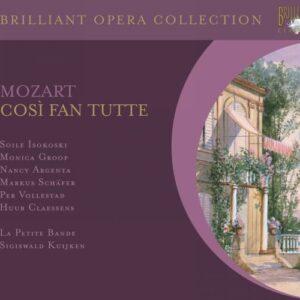 Mozart : Cosi fan Tutte. Kuijken.