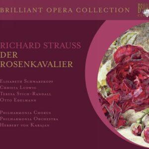 Strauss : Le chevalier à la rose. Karajan.