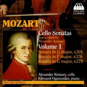 Mozart : 3 sonates pour violoncelle