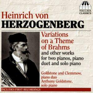 Herzogenberg : Variations sur un thème de Brahms