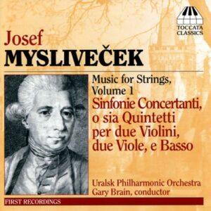 Myslivecek : Six Symphonies concertantes