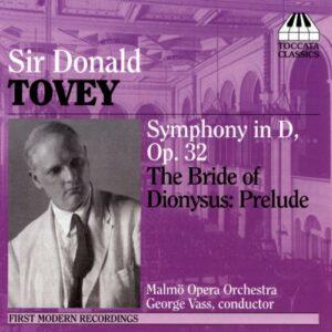 Tovey : Symphonie en ré
