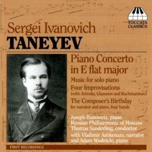 Taneiev : Concerto pour piano