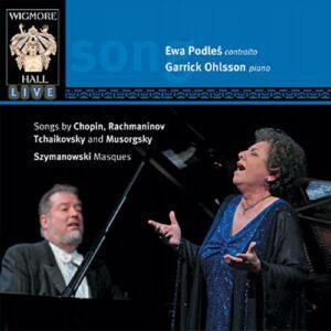 Podles, Ohlsson : Mélodies de Chopin, Rachmaninov, Tchaikovski.