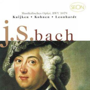Bach : L'Offrande musicale. Kuijken Consort, Leonhardt.