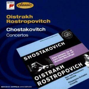 Chostakovitch : Concertos. Rostropovitch, Oistrakh