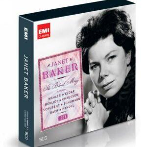 Janet Baker : Mahler, Elgar, Berlioz, Schubert.