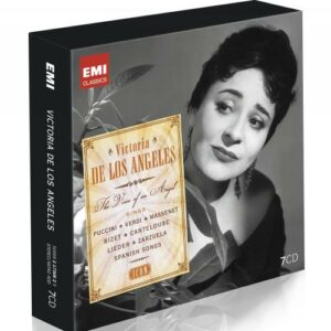 Victoria De Los Angeles : Puccini, Verdi, Massenet, Bizet.