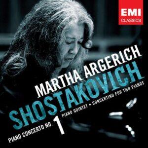 Chostakovitch : Concerto pour piano N°1. Argerich
