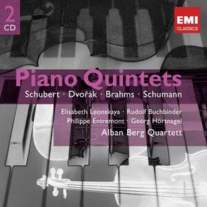 Brahms / Dvorak / Schubert / Schumann : Quintettes Pour Piano