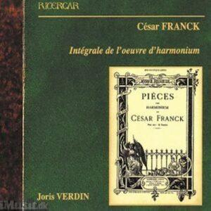 César Franck : Intégrale de l'œuvre d'harmonium