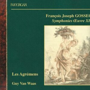 Gossec : Symphonies, Œuvre XII